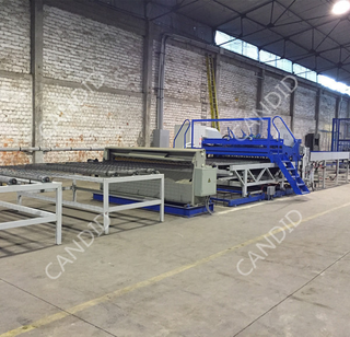 Automatic Wire Mesh Rolling Machine