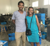 Ethiopian Customer's Visit