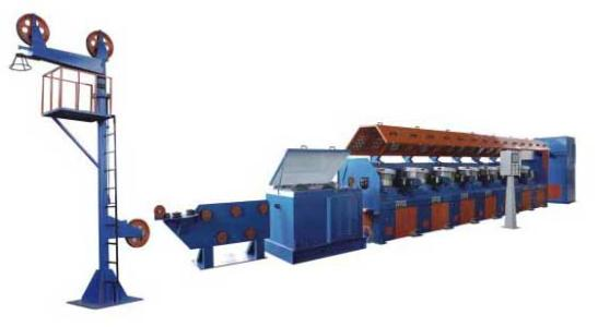 Correct operation of water tank drawing machine